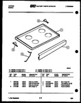 Diagram for 05 - Cooktop Parts