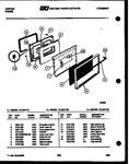 Diagram for 04 - Lower Oven Door Parts