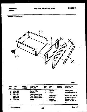 Diagram for CE303VP2WD01