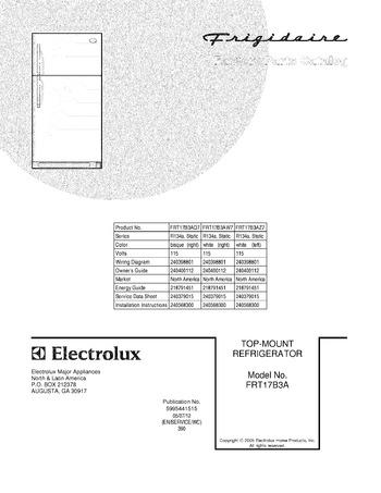 Diagram for FRT17B3AW7