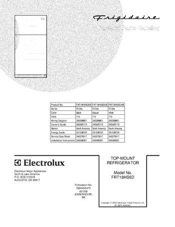 Diagram for FRT18HS6DW8