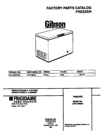 Diagram for GFC15M4AW4