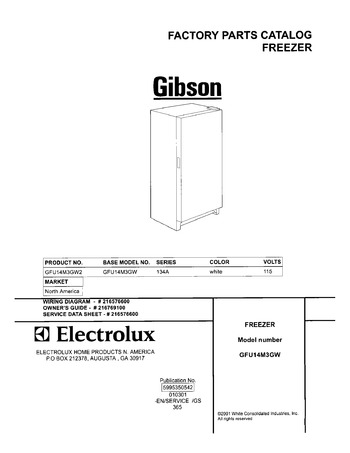Diagram for GFU14M3GW2