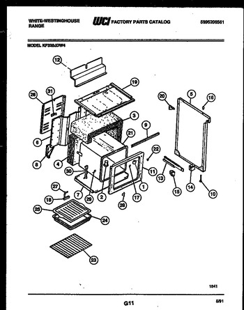 Diagram for KF320JDW4