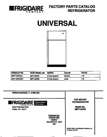 Diagram for MRT15DREW1
