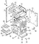 Diagram for 01 - Body/oven