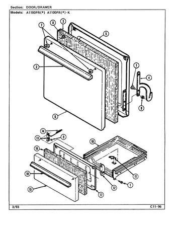 Diagram for A1100PRA-K