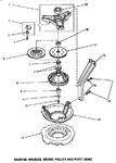 Diagram for 04 - Brg Hsg/brake/pulley & Pivot Dome