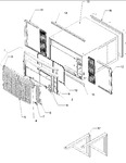 Diagram for 03 - Outercase, Curtains & Front Assy