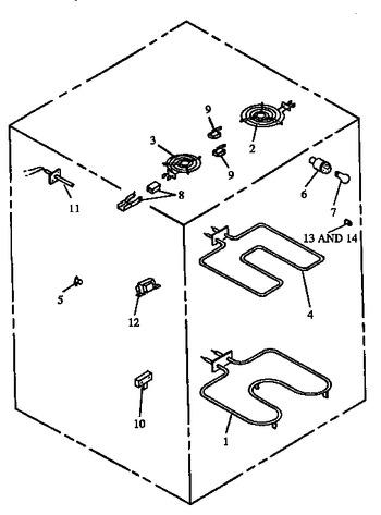Diagram for ARR633E (BOM: P1157905S E)