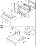 Diagram for 04 - Oven Door And Storage Drawer