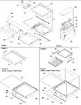 Diagram for 03 - Deli, Shelves, & Crisper Assy
