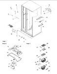 Diagram for 09 - Fz Shelving, Filter & Evap Fan Motor
