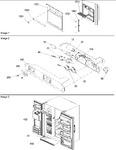 Diagram for 04 - Facade Dispenser Cover, Elect Brkt Assy