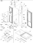 Diagram for 11 - Refrigerator/freezer Lights And Hinges