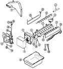 Diagram for 05 - Optional Ice Maker Kit