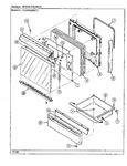 Diagram for 03 - Door/drawer (cg3432srx)