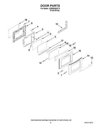 Diagram for JES8850BAF19