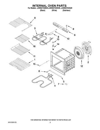 Diagram for JJW9527DDB29