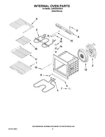 Diagram for JJW9530DDR15