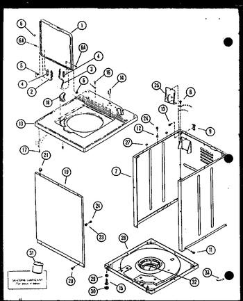 Diagram for LWD553W (BOM: P1122905W W)