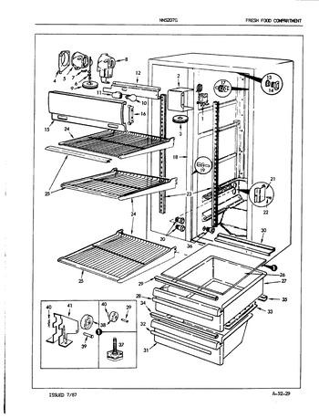 Diagram for NNS207GH (BOM: 5N61A)