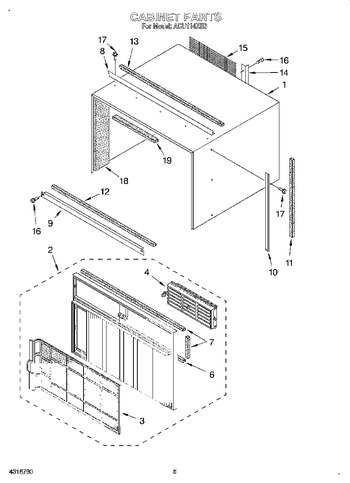 Diagram for ACU114XE3