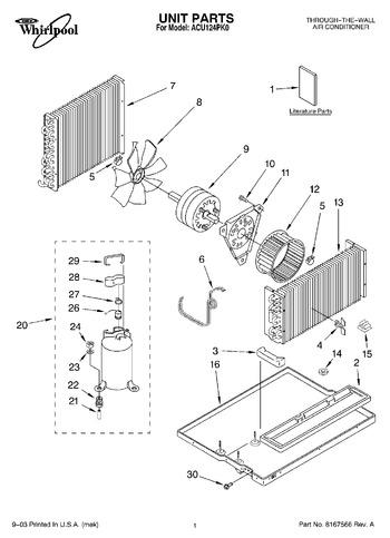 Diagram for ACU124PK0