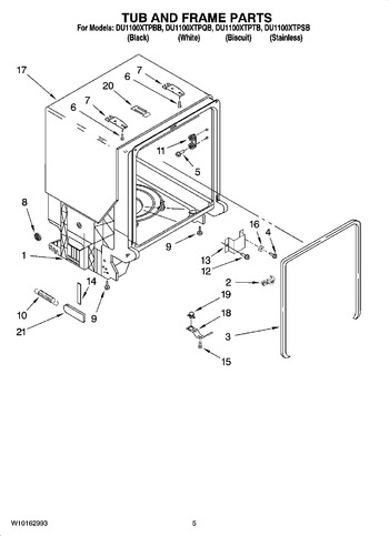 Diagram for DU1100XTPBB