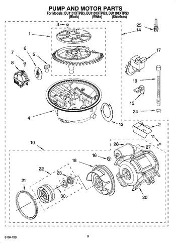 Diagram for DU1101XTPB3