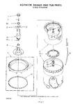 Diagram for 04 - Agitator, Basket And Tub