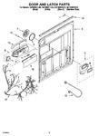 Diagram for 03 - Door And Latch Parts