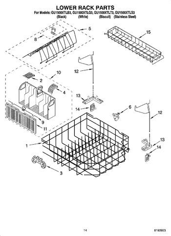Diagram for GU1500XTLT3