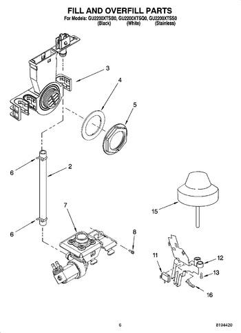 Diagram for GU2200XTSB0