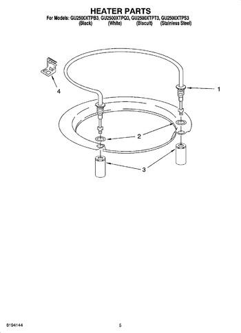 Diagram for GU2500XTPQ3
