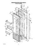 Diagram for 11 - Refrigerator Door