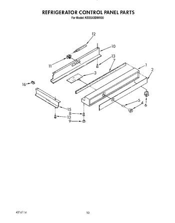 Diagram for KSSS42DWX00