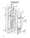 Diagram for 12 - Freezer Door