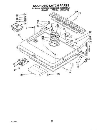 kudi230b0 parts list