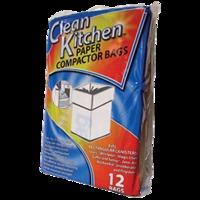 """15"""" PAPER COMPACTOR BAG 12PK"""