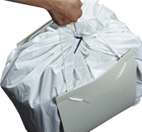 Trash Compactor Bag Carrying Caddy
