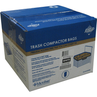 "15"" Plastic Trash Compactor Bags - 60 Pack"