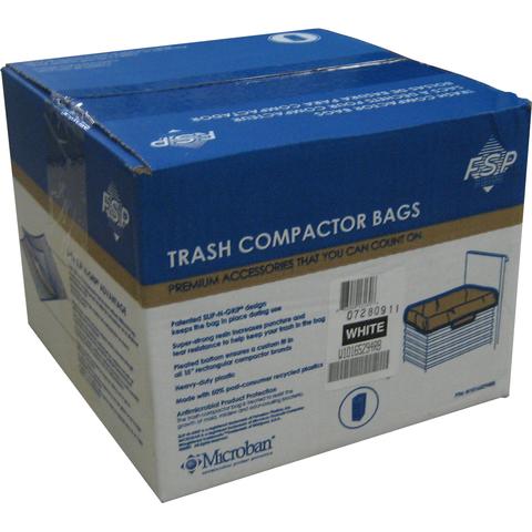 "Whirlpool 15"" Plastic Trash Compactor Bags - 60 Pack"