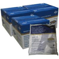 "15"" Plastic Trash Compactor Bags - 180 Pack"