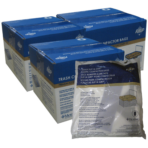 "Whirlpool 15"" Plastic Trash Compactor Bags - 180 Pack"