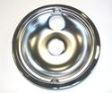 "GE Range / Oven / Stove 8"" Chrome Rear Drip Bowl"