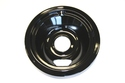 "GE Range / Oven / Stove 6"" Black Drip Bowl"