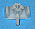 Maytag White Dishwasher Lower Rack Roller Plastic Axle