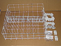 Whirlpool Dishwasher Lower Rack Assembly