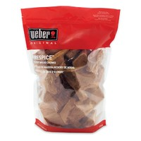 Weber BBQ Hickory Wood Chunks - 360 cu. In.